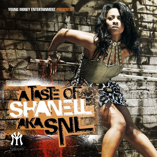 A Taste of Shanell Mixtape Cover